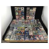 Collection of Baseball Cards in Sleeves