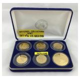 National Collectors Mint Replica Gold Coins