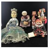 Lot of Various Dolls