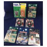 7 Headliners etc Small Packaged Sports Figures
