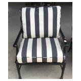 Powder Coated Aluminum Patio Chair