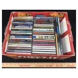 Lot of CDs in Cases