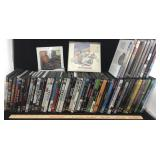 Lot of DVDs in Cases