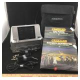 Audiovox Portable VHS Player & Cassette Sets