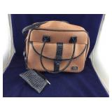 Salmon Colored Paola Pascal Wheeled Weekender