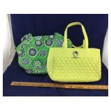 Pr of Colorful Vera Bradley Handbags/Purses