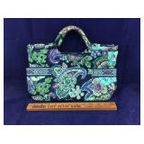 Vera Bradley Bright Blue Green & Purple Purse