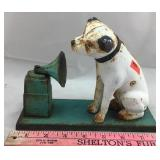 Vintage Cast Iron Bank - RCA Victor Dog