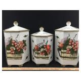 Set of Ceramic Canisters
