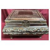Large Ornate Contemporary Treasure Chest