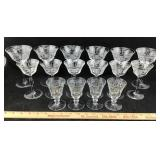 Etched Glass Set