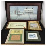 Lot of Framed Artwork