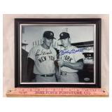 Roger Maris & Mickey Mantle Signed Frame