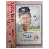 Don Mattingly Signed Cut