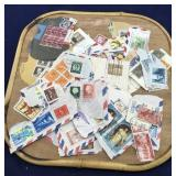 Collection of Vintage US and Foreign Stamps