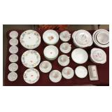 73 Piece Corelle Corning Serving & Dinnerware
