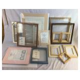 Large lot of Craft Frames & Mats