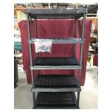 Plastic Garage Storage Shelf