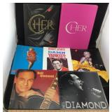 Cher, Bette Midler, Aerosmith & Neil Diamond Books
