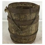 Miniature Barrel w/ Rope Handle