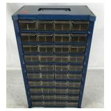Metal Parts Cabinet Plastic Drawers