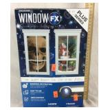 NIB Window FX Holiday Projector