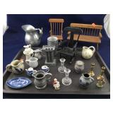 Lot of Small Mostly Dollhouse Items