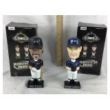 2002 Mike Piazza & Roger Clemens Bobbleheads