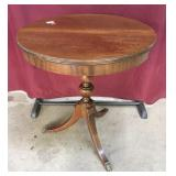 Drum Top Side Table Circa 1937