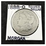 1888 Morgan Silver Dollar