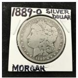 1889-0 Morgan Silver Dollar
