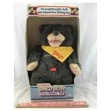 Vintage The Amazing Bingo Bear Electronic Toy