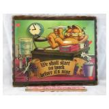 Vintage Garfield Clock