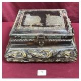 Small Ornate Contemporary Treasure Chest