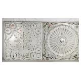 Pair of Decorative Metal Wall Hangings