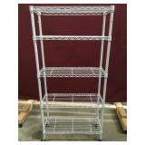 Rolling Metal Shelf / Cart