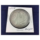 1978 Morgan Silver Dollar