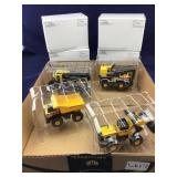 4 Mini Tonka Toys with Boxes