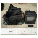 Bag w/ Small Zenith TV