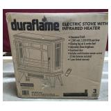 NIB Duraflame Cinnamon Finish Electric Heater