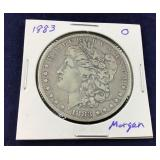 1883-0 Morgan Silver Dollar