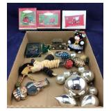 Tonka Hallmark Ornaments + Other Vntg Ornaments