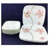 Corelle Square Plates and Bowls