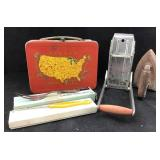 Vintage Metal Lunchbox & MORE
