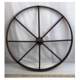 Old Cast Iron Wagon Wheel