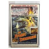 The Atomic Submarine Movie Framed Lithograph