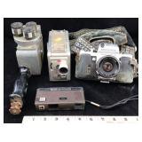 4 Vintage Cameras