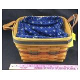 Longaberger Large Berry Basket with Cloth Liner