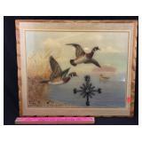 Waterfowl Clock Wall Art