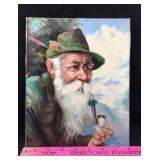 Painting of Bearded Man with Pipe